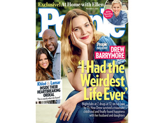 Hollywood Survivor Drew Barrymore: 'I Had the Weirdest Life Ever'
