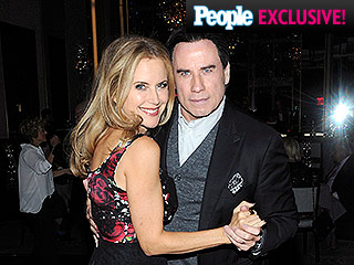 Night Fever! John Travolta Dances with Wife Kelly Preston at Her Birthday Bash in New York