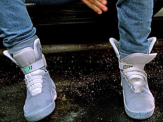 FROM EW: Self-Lacing Nikes from Back to the Future Part II Are Coming This Spring!