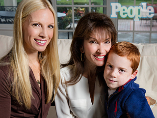 VIDEO: Susan Lucci's Daughter Liza Huber Reveals Her Son Has Cerebral Palsy