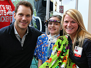 Selfies and Superheroes! Chris Pratt Visits an Atlanta Children's Hospital and Brightens Everyone's Day (as Usual)