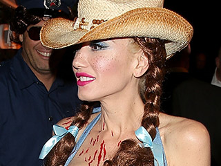 Yippee Ki-Yay! Gwen Stefani Is a Colorful Cowgirl for Halloween
