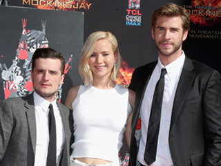 The Hunger Games Stars Leave Their Mark On Hollywood … Literally