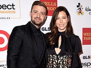 Justin Timberlake and Jessica Biel Enjoy 'Date Night' at the CMAs