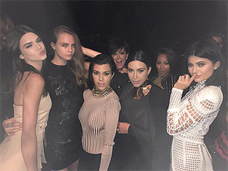 Cara Delevingne, Willow Smith and Jaden Smith Join the Kardashian-Jenners for Ultra Stylish Balmain Birthday Blast