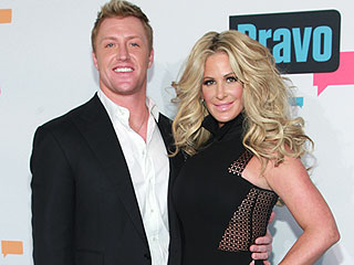 Kim Zolciak's Husband Paints His Toes to Look Like a Heart Monitor for Her Surgery