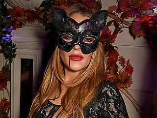 Meow! Check Out Lindsay Lohan's Purrfect Catwoman Costume for Halloween