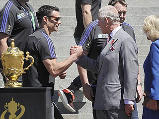 Who Knew Prince Charles Could Shake Hands Like This? The Future King Has a Bro Moment in New Zealand