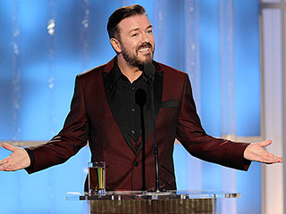 He's Baaack! Ricky Gervais to Host 2016 Golden Globes