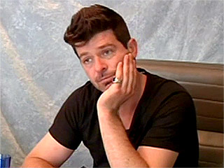 Robin Thicke Says He Was High and Drunk for Every 2013 'Blurred Lines' Interview in Newly Released Deposition Video