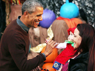 Trick or Treating At the White House! President and First Lady Host Halloween Carnival