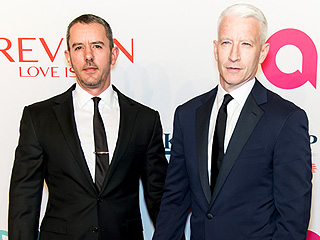 Anderson Cooper and Boyfriend Benjamin Maisani Look Dapper on the Red Carpet