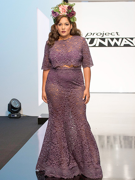 Ashley Tipton Makes Project Runway History with First Plus-Size Finale Collection| Project Runway, Bodywatch, TV News