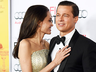 Angelina Jolie and Brad Pitt Turn By the Sea L.A. Premiere Into Romantic Date Night