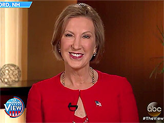 Carly Fiorina Appears on The View After Hosts Said She Looked 'Demented'