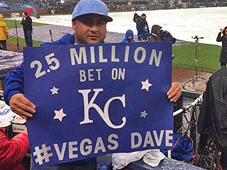 How a Las Vegas Man Beat the Odds to Win $2.5 Million on the Kansas City Royals