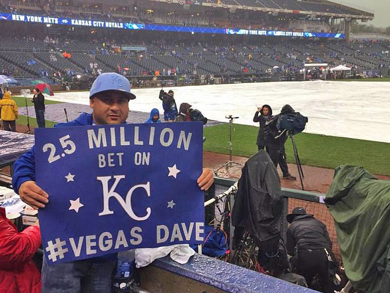 Las Vegas Man Wins $2.5 Million on Kansas City Royals Bet