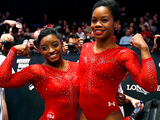 Two Reasons to Get Excited for Rio: Gabby Douglas and Simone Biles, Who Ruled the Gymnastics World Championships – And Now They're Looking Ahead