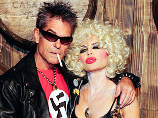 Lisa Rinna and Harry Hamlin Apologize for the Swastika T-Shirt in His Sid Vicious Halloween Costume