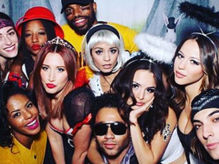 High School Musical Cast Reunites at Vanessa Hudgens' Halloween Party