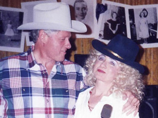 Hillary Clinton Wins Throwback Thursday with This Awesome Dolly Parton-Costume Snap