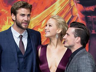 Last Hoorah! Jennifer Lawrence, Liam Hemsworth & Josh Hutcherson Walk Red Carpet at World Premiere of Final Hunger Games Film