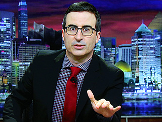 John Oliver Says He Never Invited Donald Trump to Appear on His 'Boring' Show