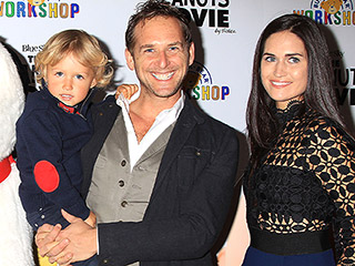 Josh Lucas and Ex-Wife Jessica Ciencin Henriquez Attend Peanuts Movie Screening with Son After Moving Back In Together