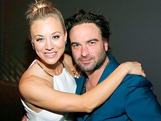 Big Bang Theory Stars and 'Best Friends' Kaley Cuoco and Johnny Galecki Go Out in L.A.