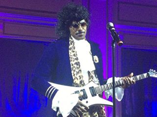 LeBron James Dresses Up as Prince for Halloween, Complete with Performances of the Singer's Greatest Hits