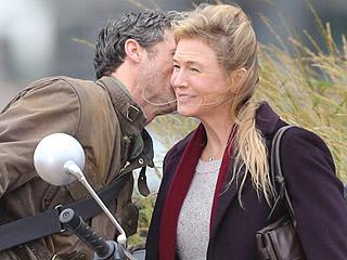 Patrick Dempsey Arrives on Bridget Jones Set in PDA Packed Scene with Renée Zellweger