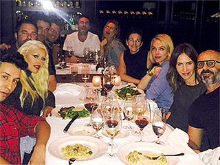 Blake Shelton Dines with The Voice Crew (Including Christina Aguilera and Adam Levine) After Gwen Stefani Dating News