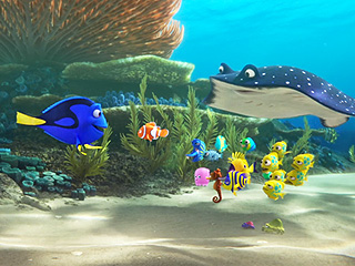 FROM EW: Spot Them Anywhere? Dory Sets Out to Find Her Family in New Finding Dory Trailer