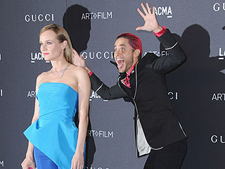 What a Joker! Jared Leto Photobombs Diane Kruger at the LACMA Art+Film Gala