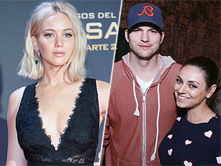Jennifer Lawrence Shows Up to Ashton Kutcher & Mila Kunis' House Uninvited: 'They're Probably Getting Pretty Sick of Me'