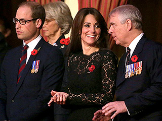 With Red Poppies, Princess Kate Joins Prince William for Remembrance Festival in London to Honor Wartime Fallen