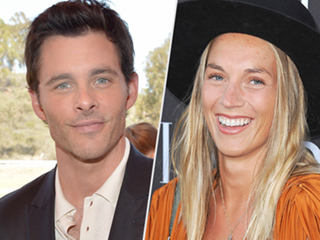 James Marsden and British Singer Edei Step Out: They're 'More than Friends,' Says Source