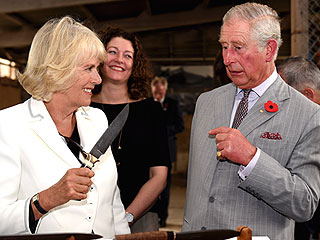 Now That's a Knife! We Explain What's Going on in This Crazy Photo of Prince Charles and Camilla