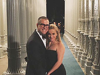 Reese Witherspoon Enjoys Glam 'Date Night' with Husband Jim Toth at LACMA Gala: Photo