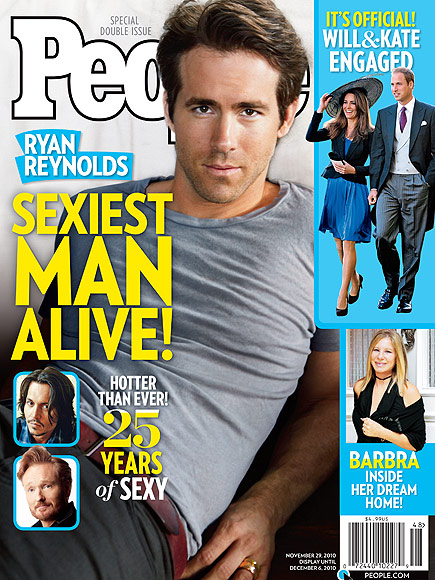 Ryan Reynolds on Hanging with Other Past Winners of ...
