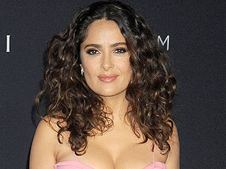 Salma Hayek Posts TBT From Her Gymnast Days: 'I Wish I Could Still Do That'
