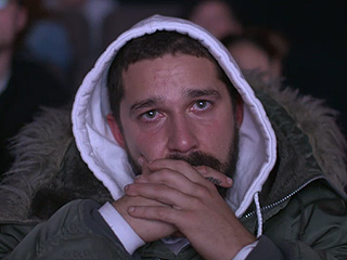 Shia LaBeouf Is Marathon-Watching All of His Movies on a Live Stream – and He Has a Facial Expression for Every One