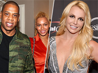 Famous Fans! Beyoncé and Jay Z Have a Date Night at Britney Spears' Las Vegas Show