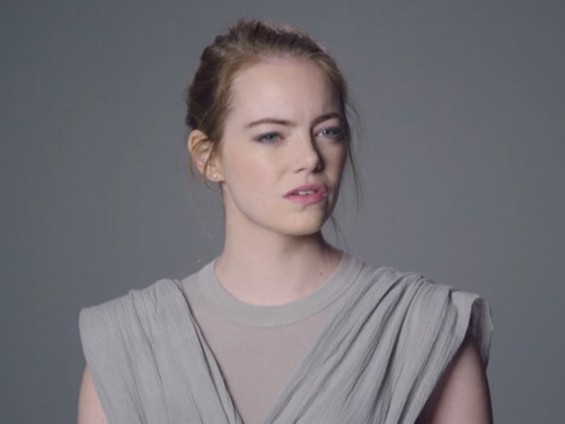 Emma Stone, Sofia Vergara, Jon Hamm Try Out for 'Star Wars' on SNL ...