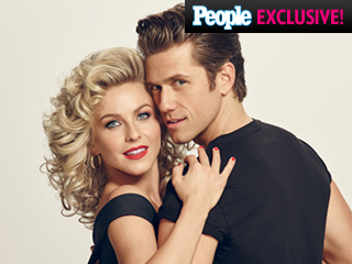 FIRST LOOK: Julianne Hough as Sandy in Grease: Live – Plus Vanessa Hudgens and Aaron Tveit