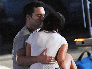 Who's That Girl? Megan Fox Spotted Making Out with Jake Johnson on the Set of New Girl