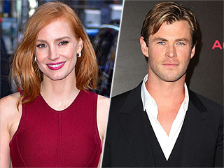 Jessica Chastain Teases Chris Hemsworth About the Emotional End of His Sexiest Man Alive Reign: 'You Must Be Devastated'