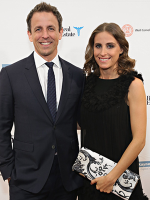 Seth Meyers Welcomes Son