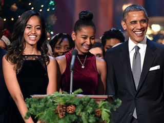 President Obama Opens Up About Malia and Sasha's 'Ninja' Phone Skills, Who Wants to Date Them and Why They're 'Cooler' Than He Is