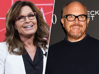 Sarah Palin Gushes About Louis C.K. in New Book, Invites Him to 'Come Slay Salmon' With Her in Alaska